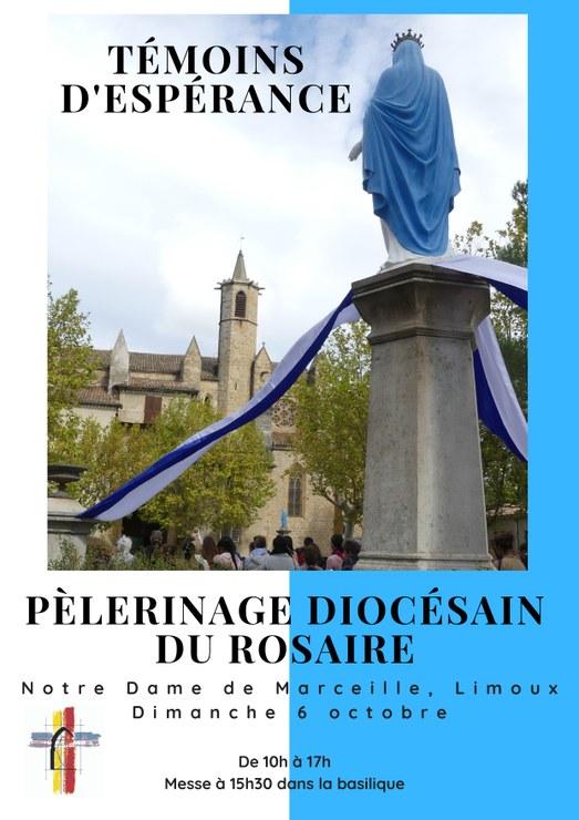 Pèlerinage diocésain (Carcassonne & Narbonne) du Rosaire le 6 octobre 2019 à Limoux (11)