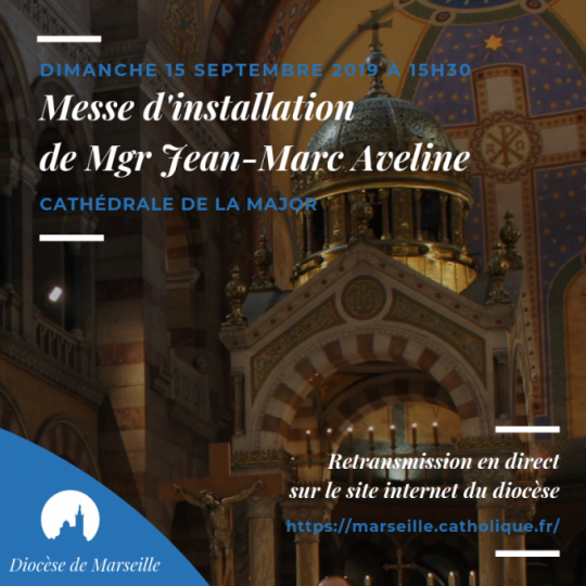 Installation liturgique de Mgr Jean-Marc Aveline le 15 septembre 2019 à Marseille (13)