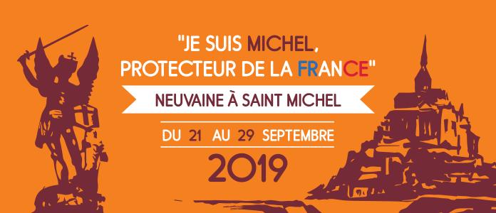 Hozana et France Catholique invitent les chrétiens du monde entier à prier une neuvaine à Saint Michel pour la France du 21 au 29 septembre 2019