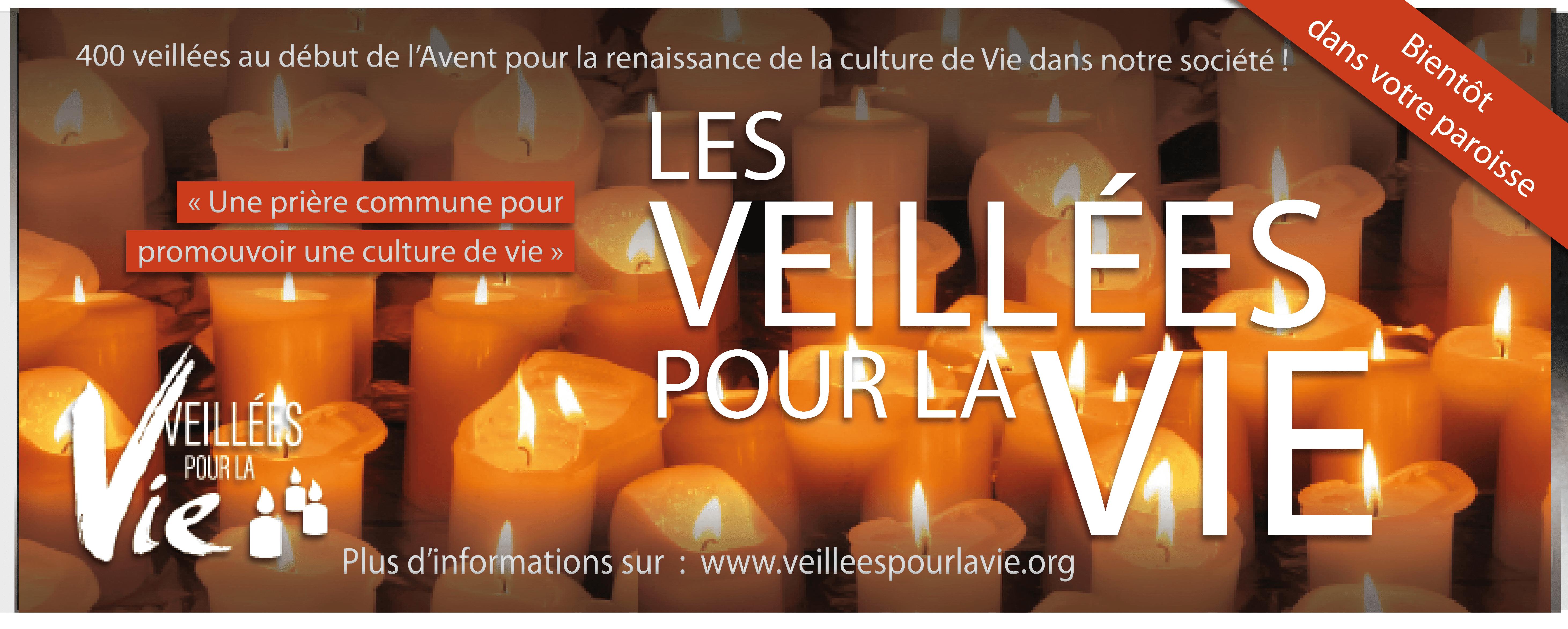Pourquoi organiser une Veillée pour la Vie, le 30 novembre 2019?