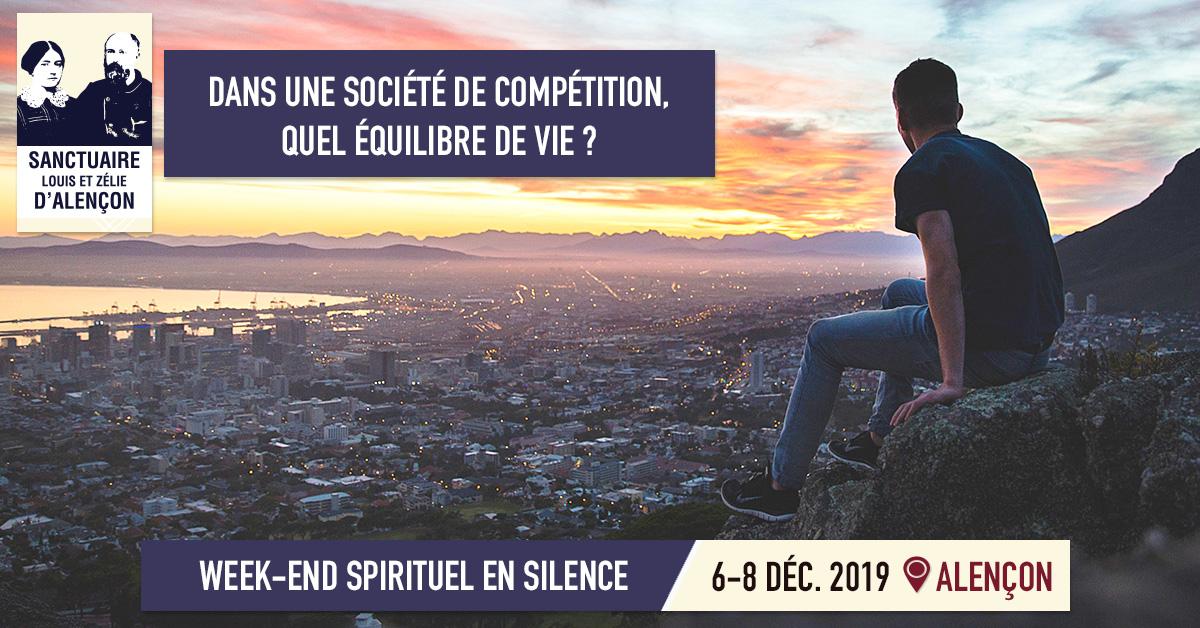Week-end spirituel du 6 au 8 décembre 2019 à Alençon (61)