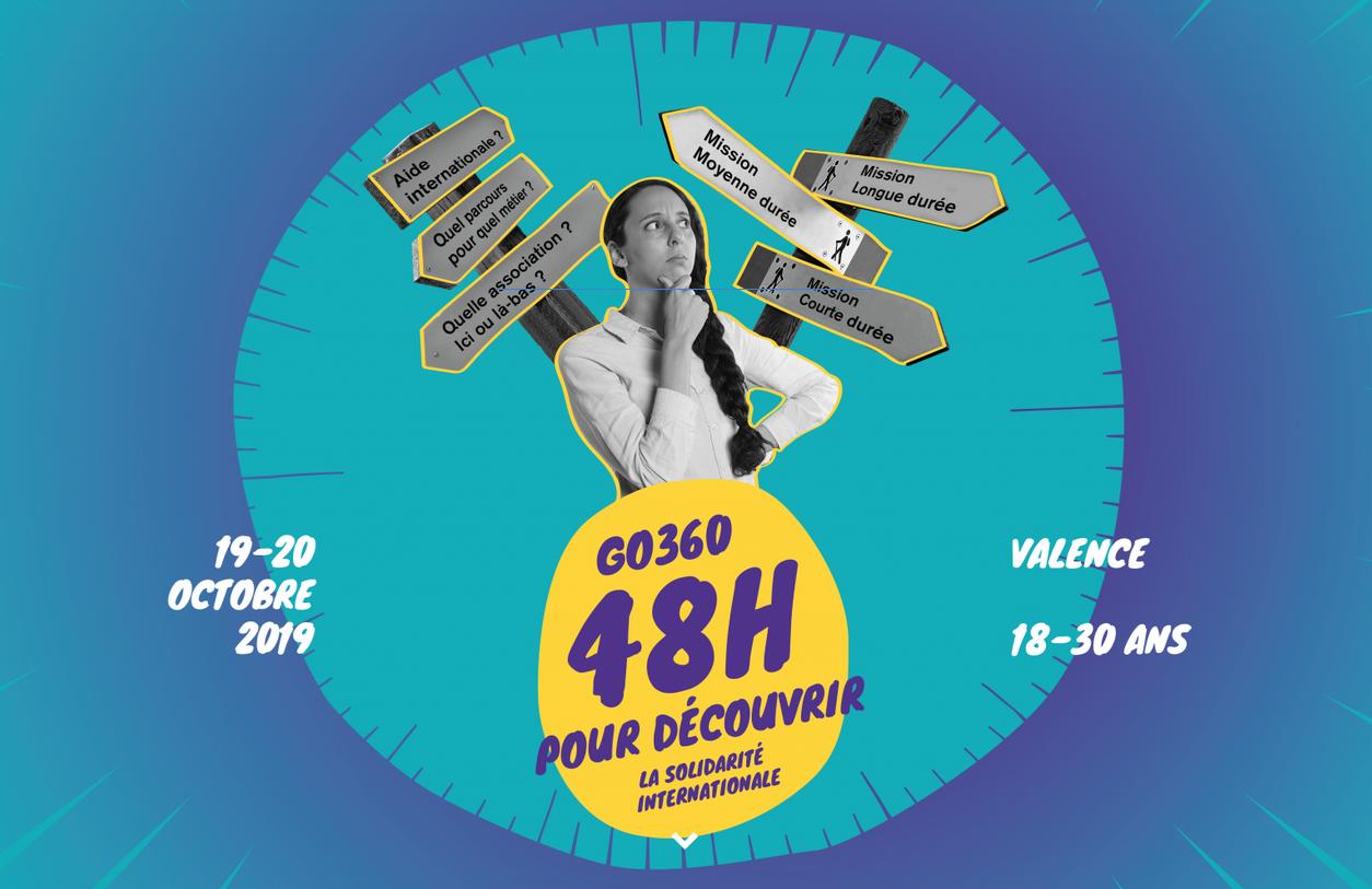 Go 360: 48h pour s'engager dans une ONG chrétienne – Les 19 & 20 octobre 2019 à Valence (26)