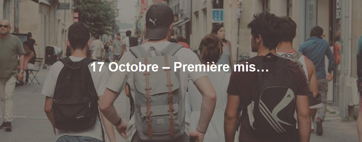 Mission jeunes St André le 17 octobre 2019 à Lyon (69)