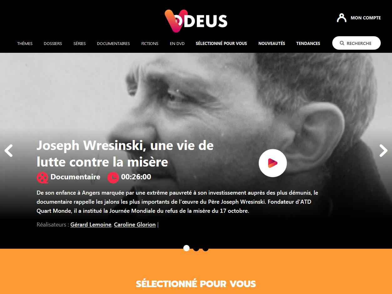 Vodeus, une nouvelle plateforme de streaming