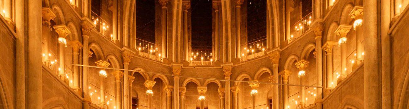 Les lumières de la Cathédrale d'Amiens (80) les 6, 7 & 8 décembre 2019 à l'occasion des 800 ans de la cathédrale