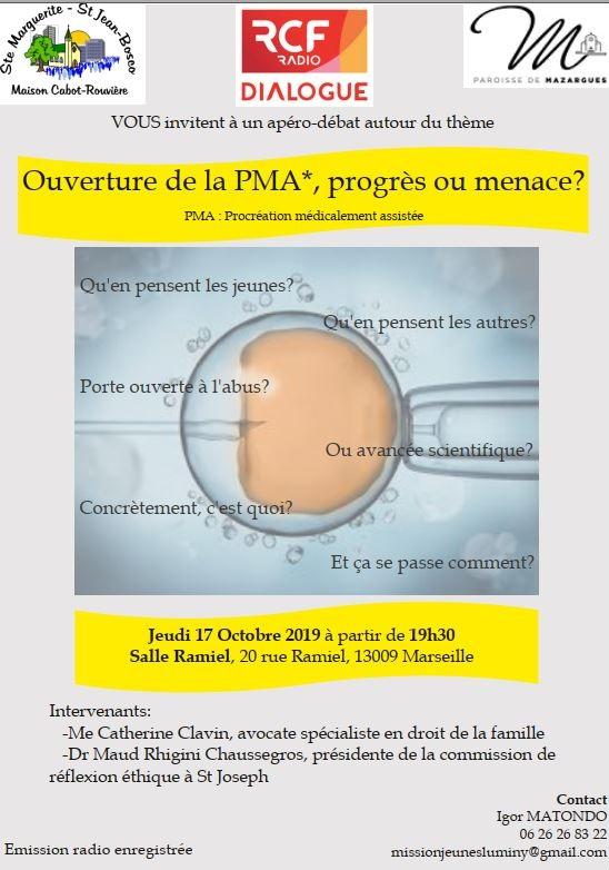 Ouverture de la PMA: progrès ou menace? Le 17 octobre 2019 à Marseille (13)