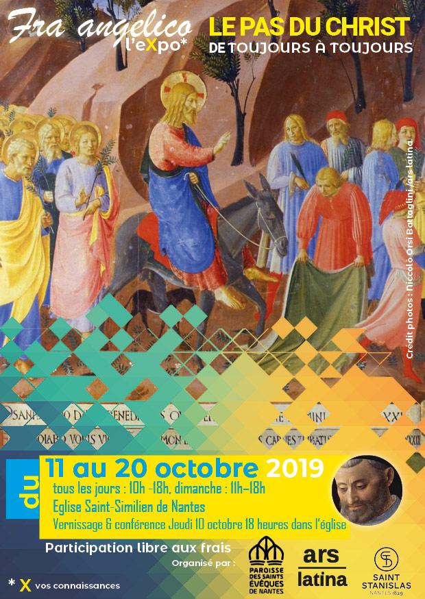 Exposition Fra Angelico du 10 au 20 octobre 2019 à Nantes (44)