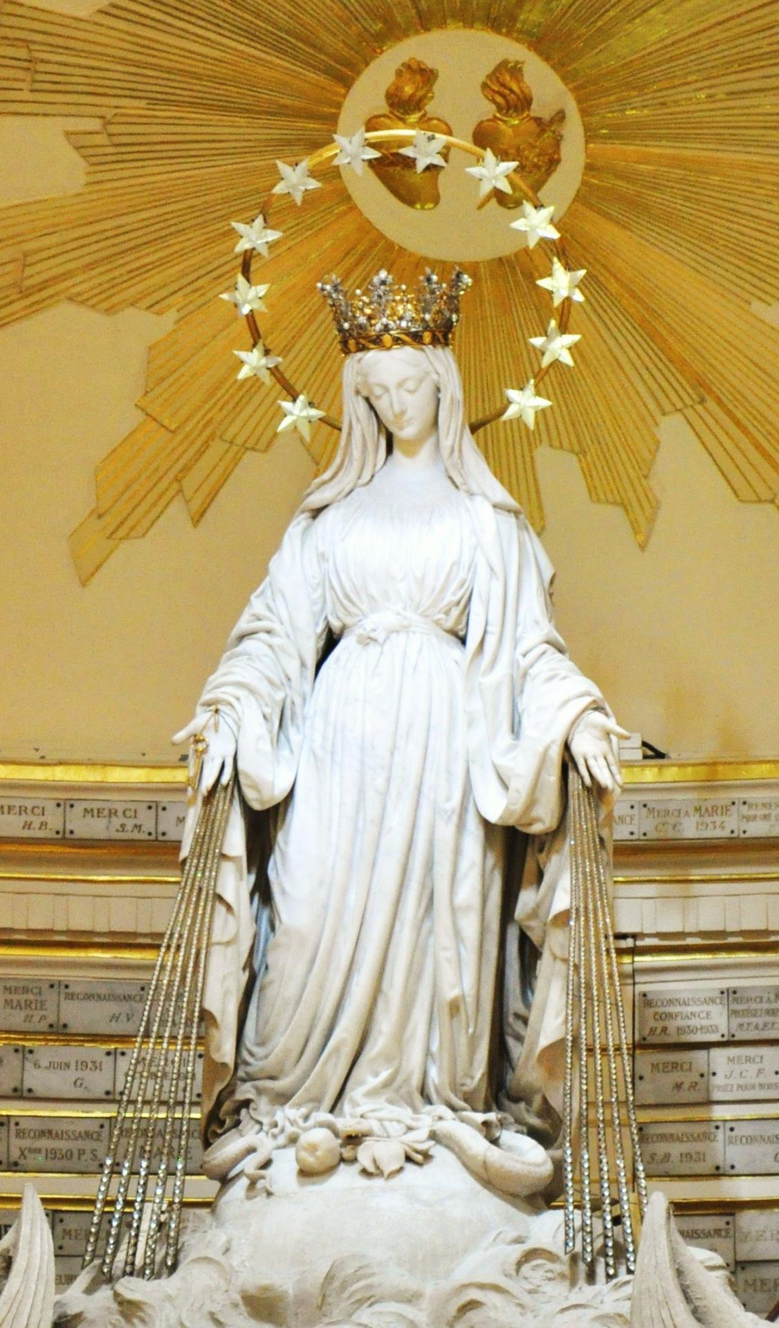 Prier la Sainte Vierge pour une intention qui vous est chère
