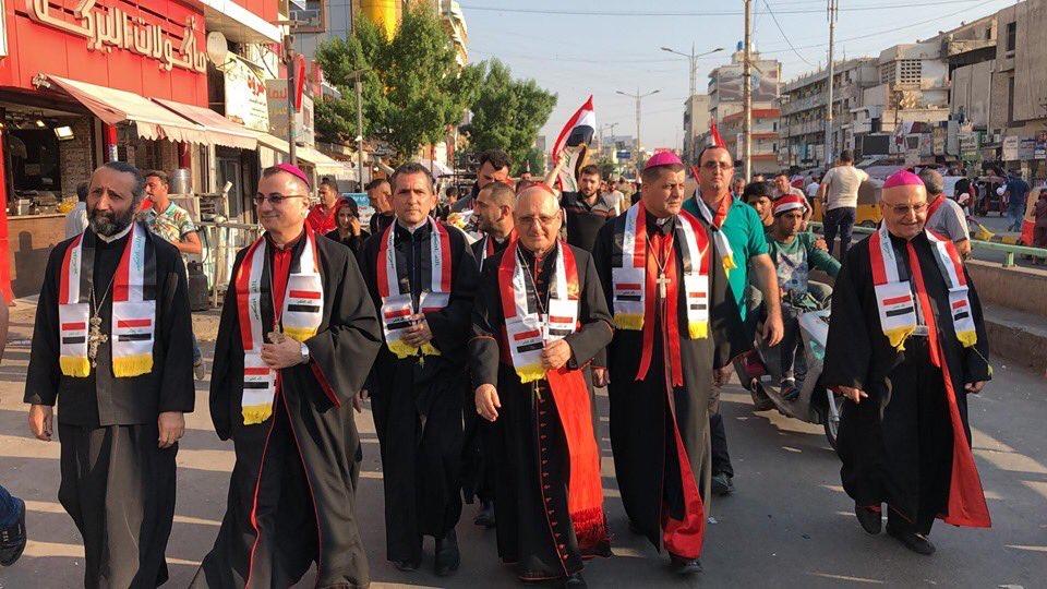 Irak: le Patriarche de l'Église chaldéenne catholique se penche sur les manifestations