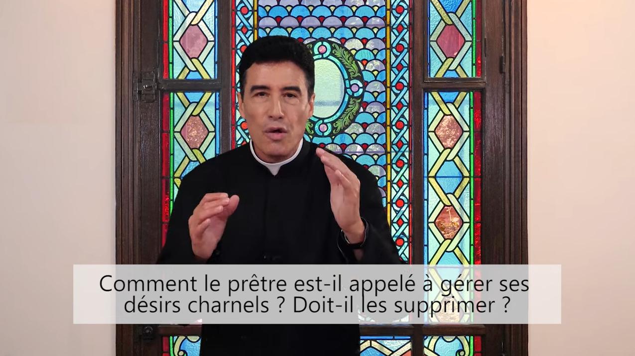 Deux minutes pour vous #82 – Père Michel-Marie Zanotti-Sorkine – «Comment le prêtre est-il appelé à gérer ses désirs charnels? Doit-il les supprimer?»