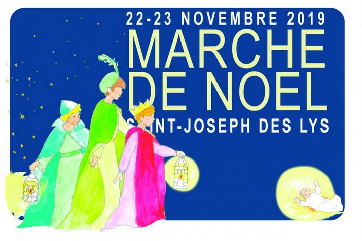 Marché de Noël de Saint-Joseph-des-Lys à Versailles (78) les 22 & 23 novembre 2019  avec dédicaces de nombreux auteurs
