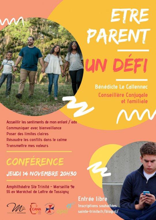 Etre parent: un défi! Conférence le 14 novembre 2019 à Marseille (13)