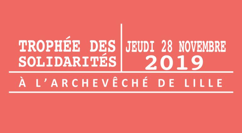 Trophée des Solidarités le 28 novembre 2019 à Lille (59)