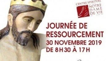 Une journée spirituelle avec Jésus à Notre-Dame de Ste Garde (Saint-Didier (84)) le 30 novembre 2019