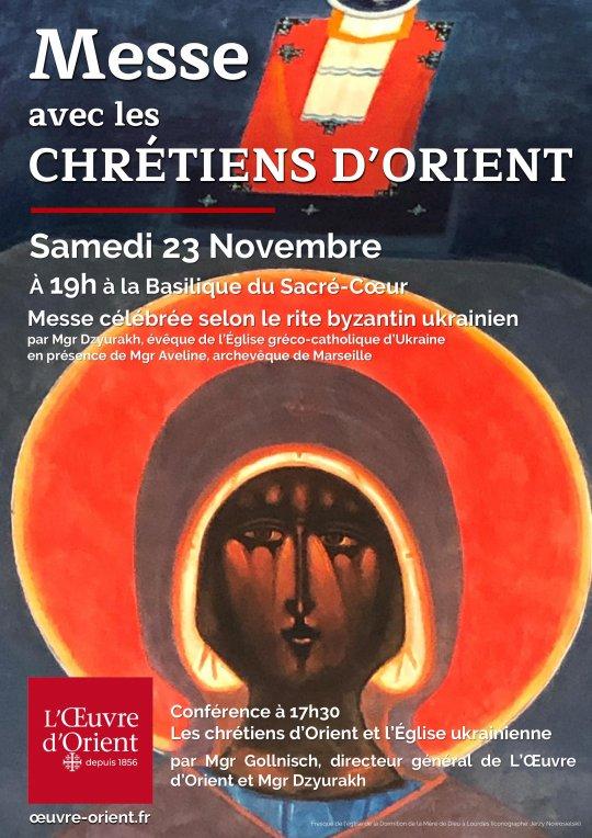 Conférence & Messe avec les chrétiens d'Orient le 23 novembre 2019 à Marseille (13)