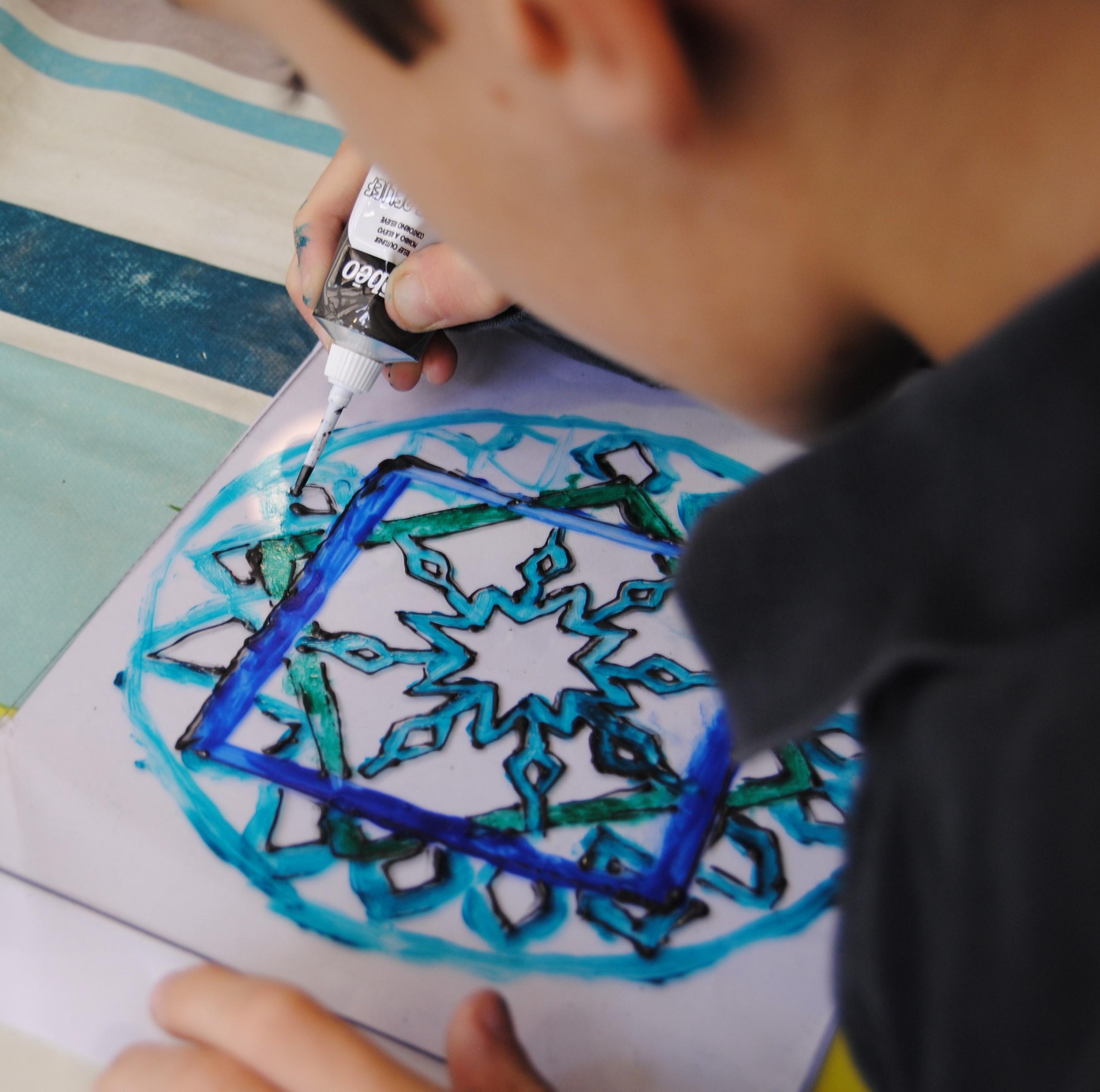 Atelier vitrail pour les enfants le 16 novembre 2019 à Lyon (69)