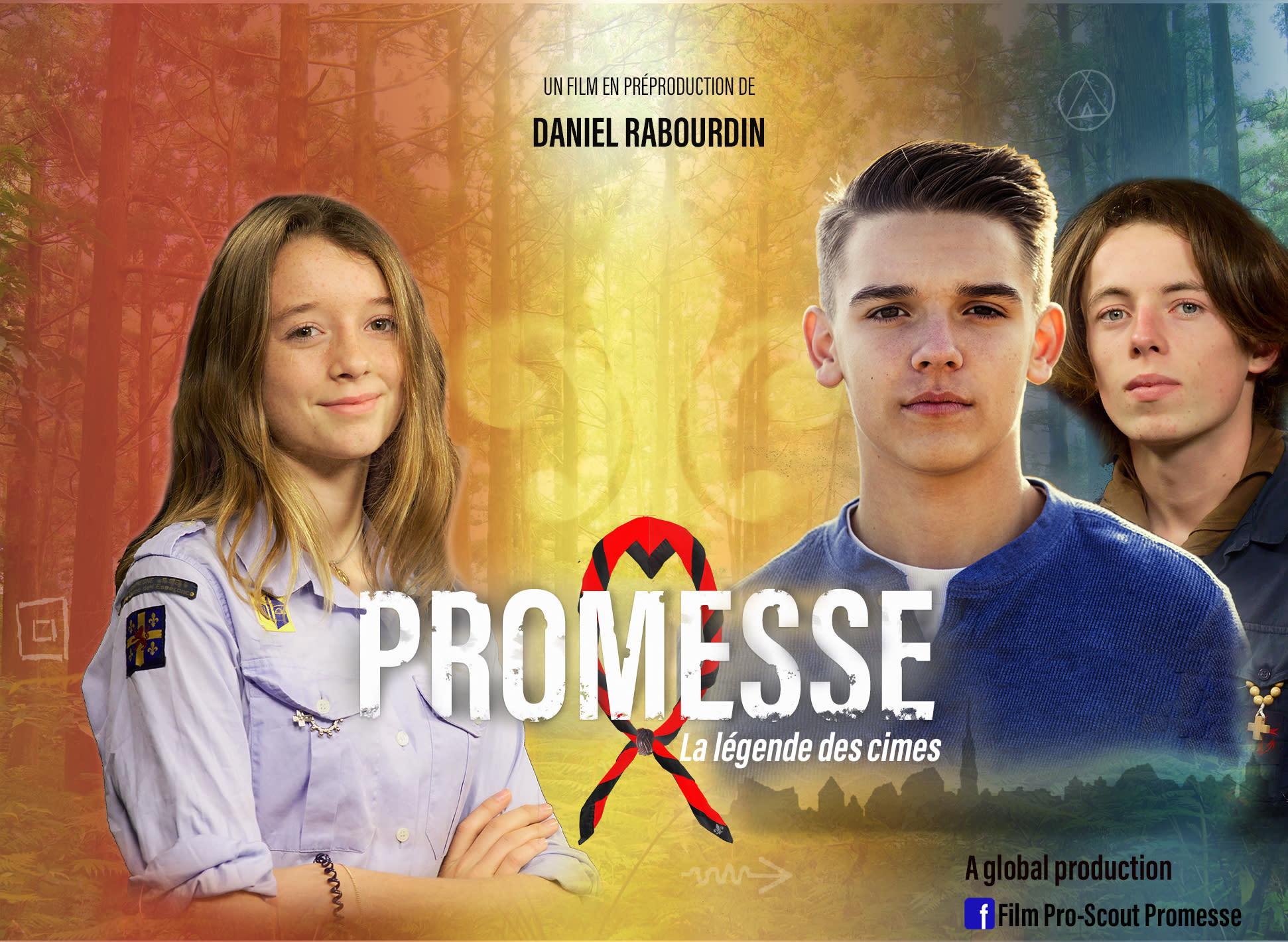 Promesse, le nouveau film à venir de Daniel Rabourdin