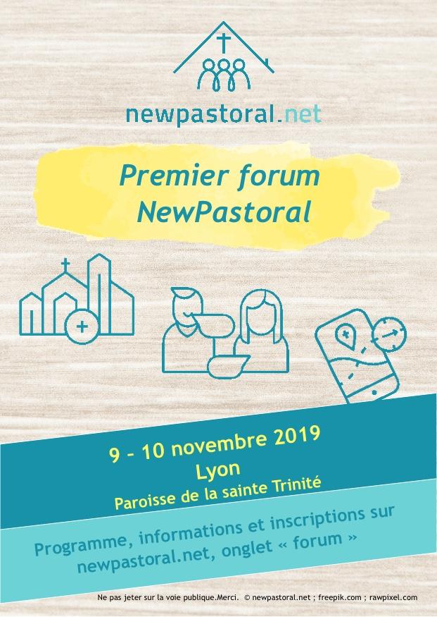 Forum NewPastoral les 9 & 10 novembre 2019 à Lyon (69)