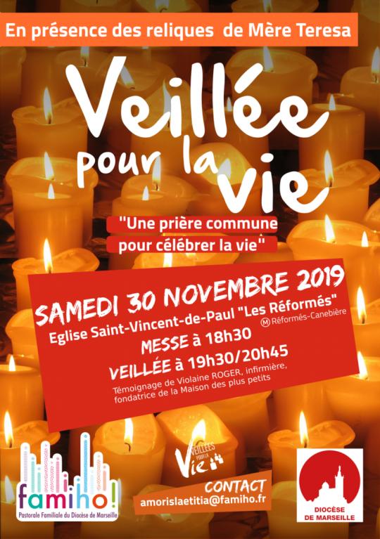 Veillée pour la vie le 30 novembre 2019 à Marseille (13)