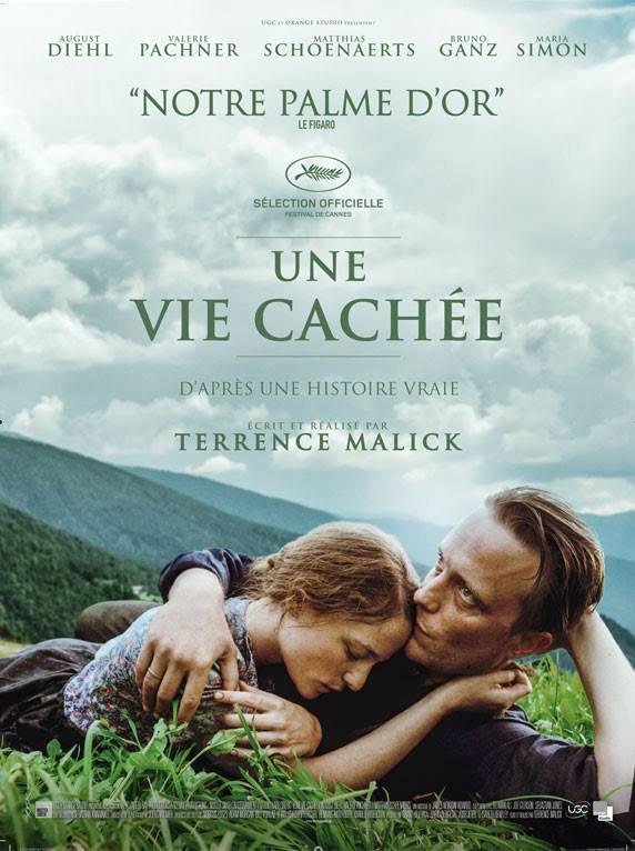 """Projection du film """"Une vie cachée"""" le 15 décembre 2019 au Pontet (84)"""