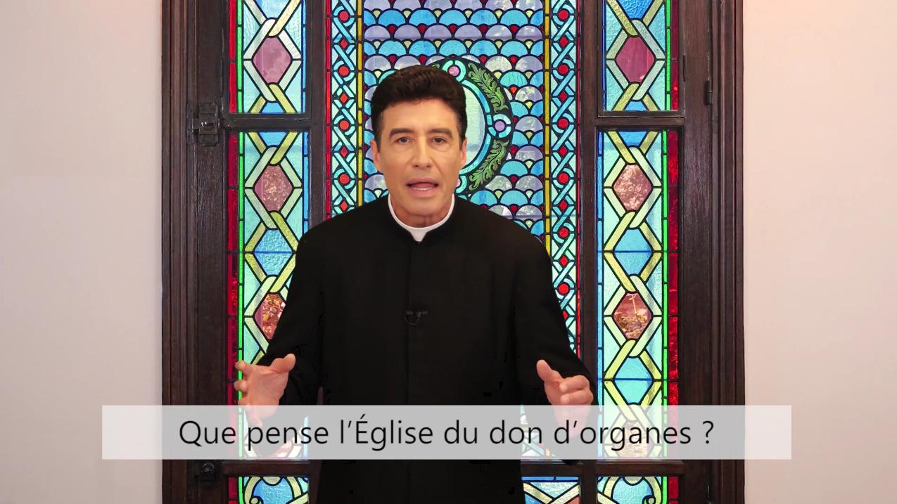 Deux minutes pour vous #89 – Père Michel-Marie Zanotti-Sorkine – «Que pense l'Église du don d'organes?»