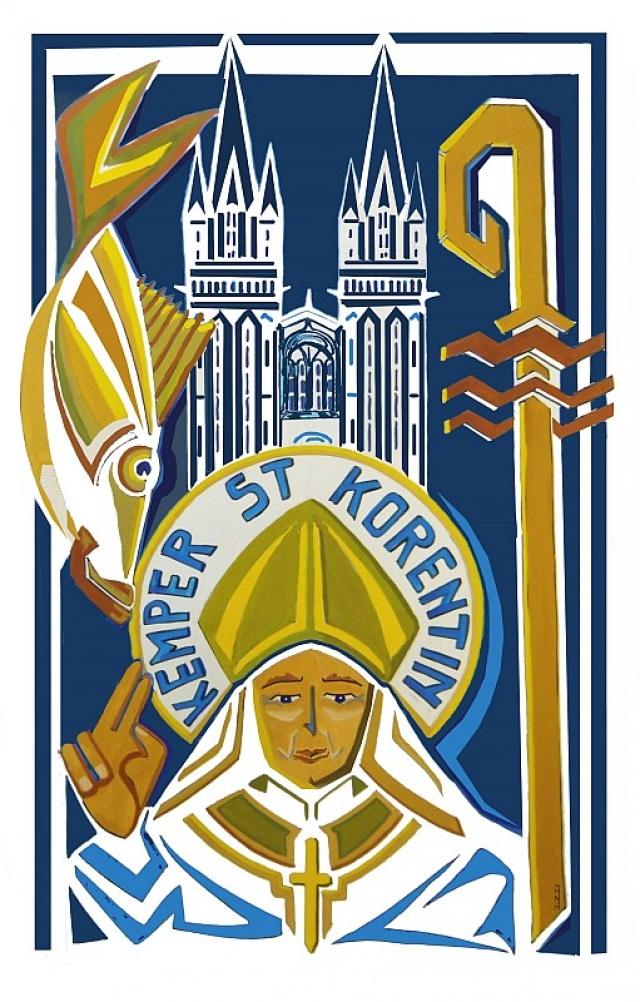 Pardon de Saint Corentin le 15 décembre 2019 à Quimper (29)