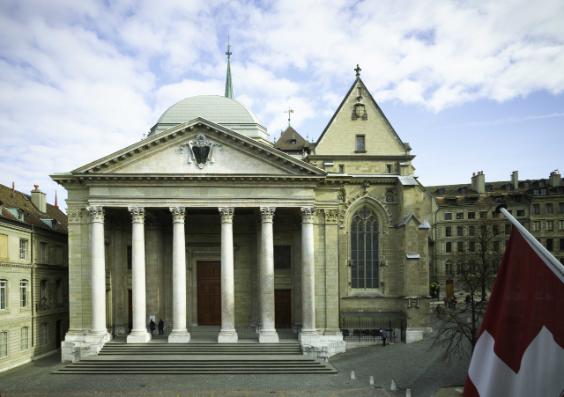 Genève: annonce de la célébration d'une messe catholique dans la cathédrale protestante