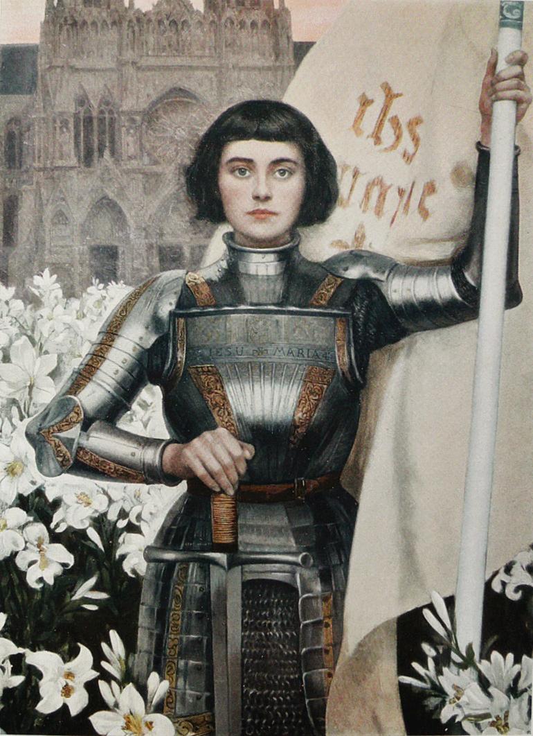 Ouverture de l'année du centenaire de la canonisation de Jeanne d'Arc le 6 janvier 2020 à Paris