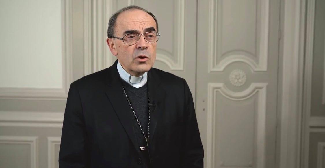 Message vidéo du cardinal Barbarin à la suite de la décision de relaxe