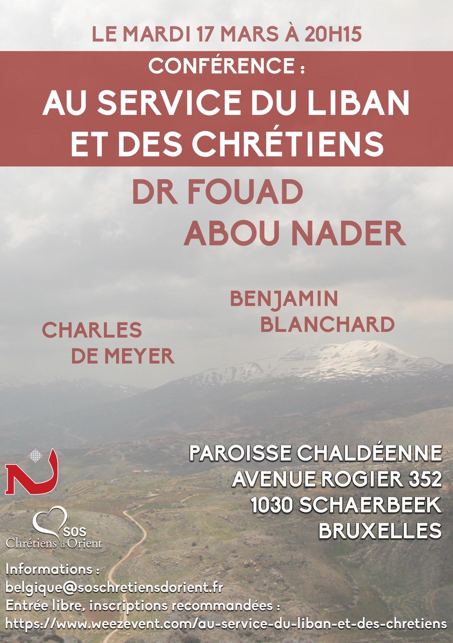Bruxelles: conférence sur le Liban et les chrétiens