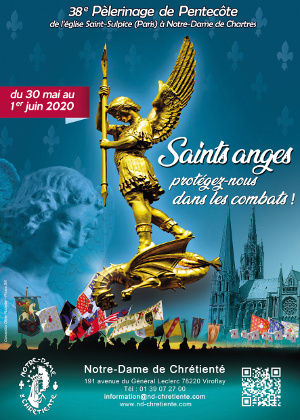 Programme du 38ème Pèlerinage de Chrétienté Paris-Chartres