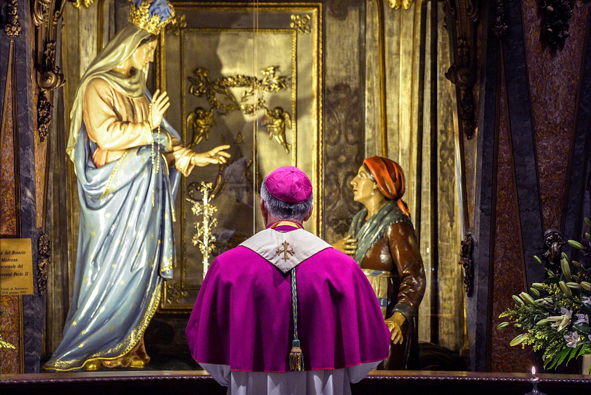 Consécration de l'Italie à la Vierge Marie