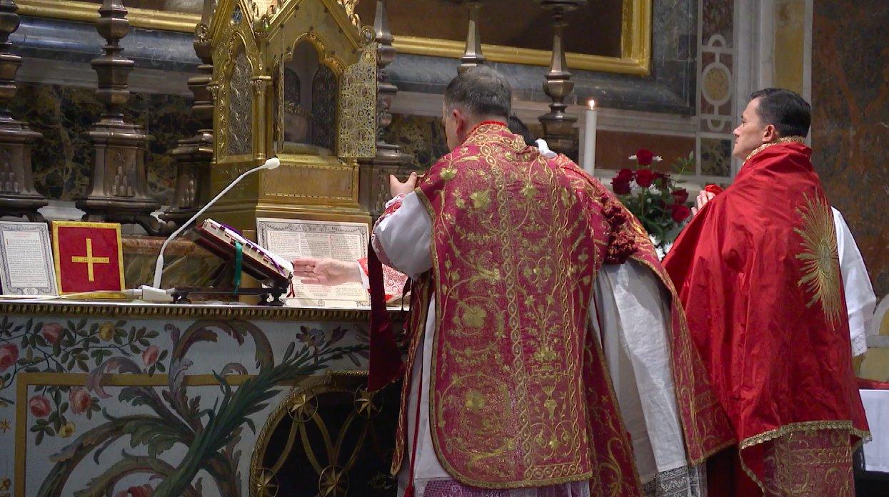 Pèlerinage de Chartres: messe de clôture à Rome