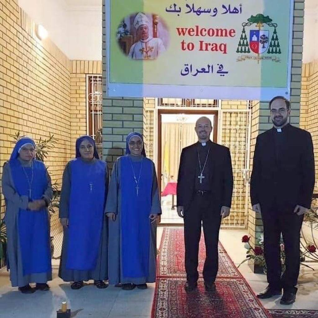 Irak: accueil du nouveau nonce apostolique