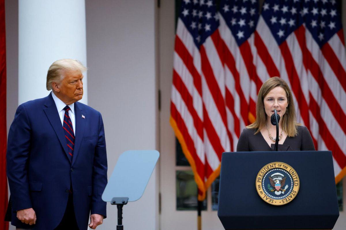 États-Unis: Trump annonce la candidature d'Amy Coney Barrett à la Cour suprême