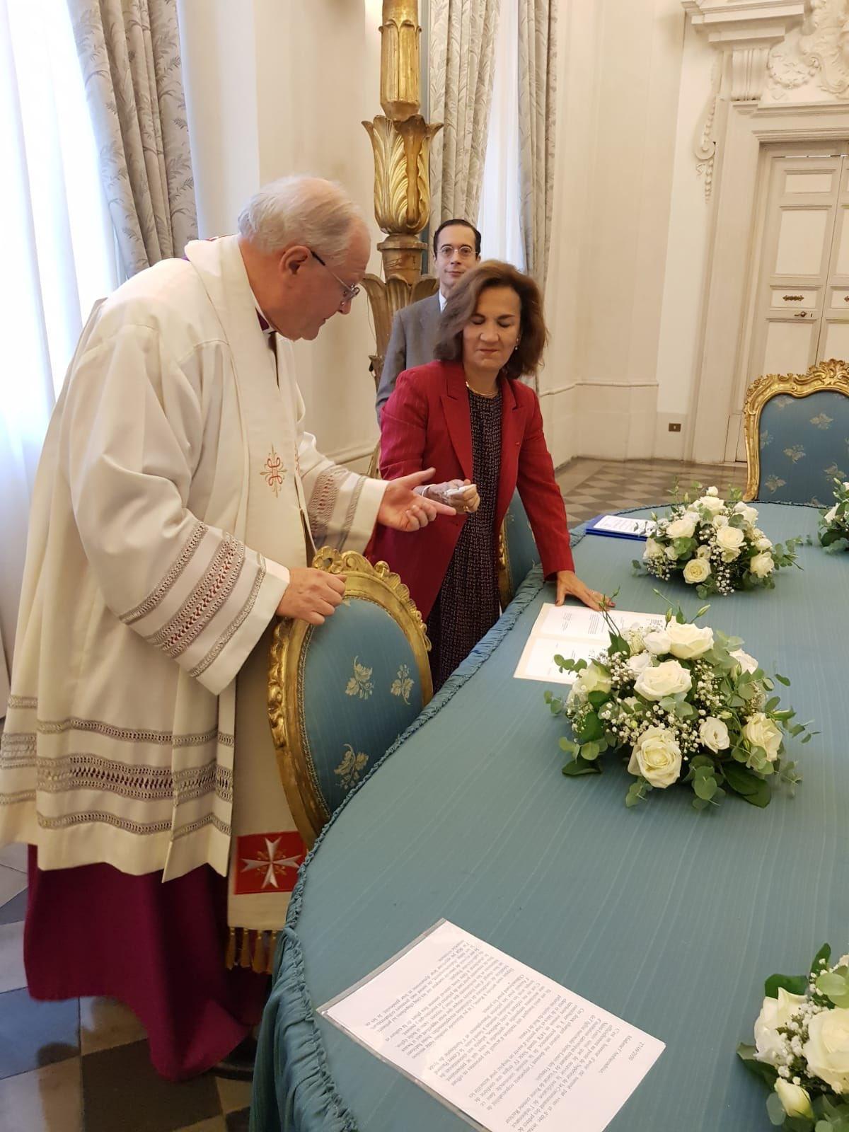 Rome: installation du nouveau recteur de Saint-Louis des Français