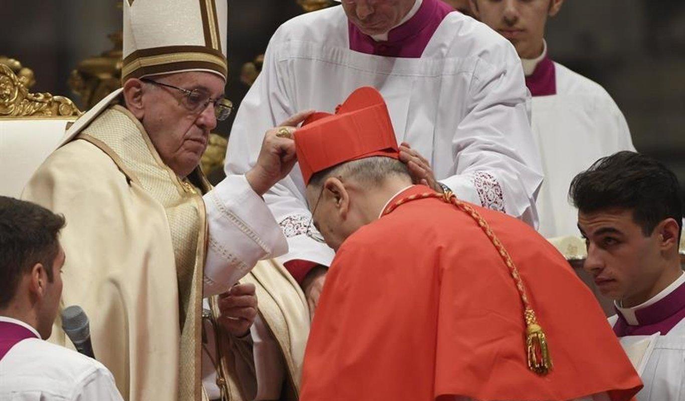 Rome: le Pape François annonce la création de 13 nouveaux cardinaux