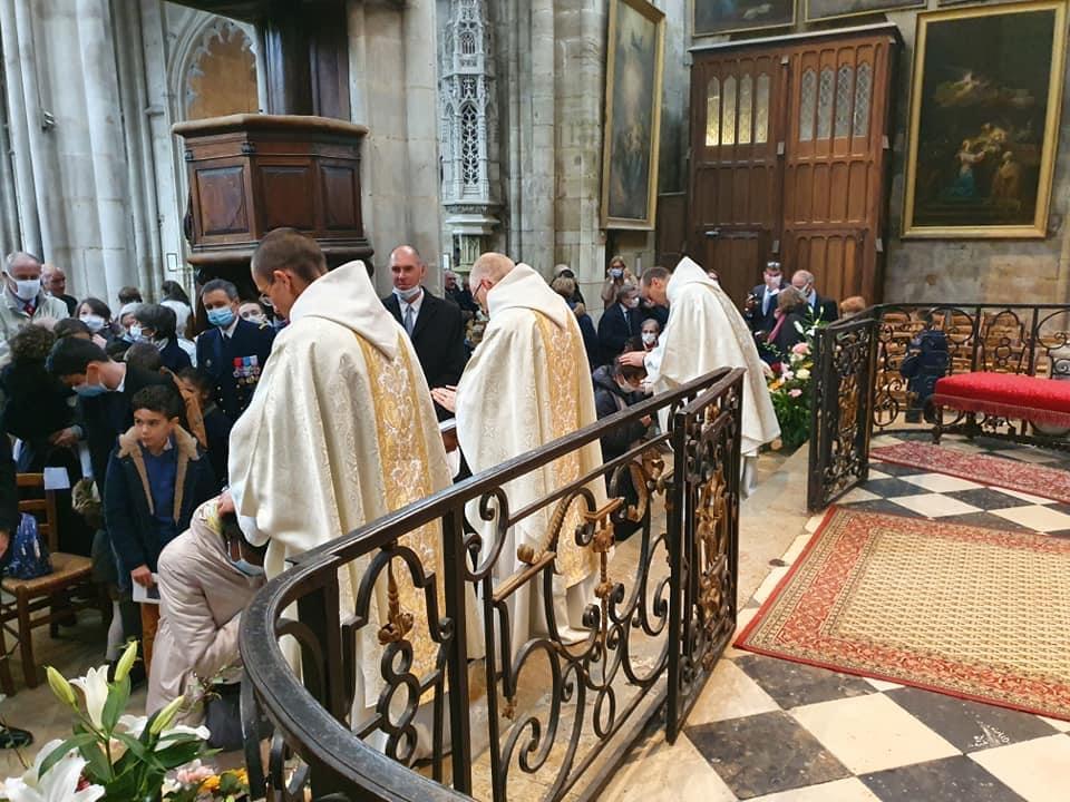 France: trois ordinations sacerdotales pour l'Abbaye de Flavigny