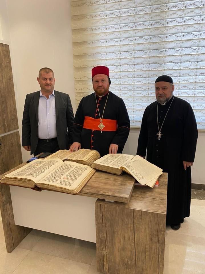 Irak: des manuscrits syriaques retrouvés