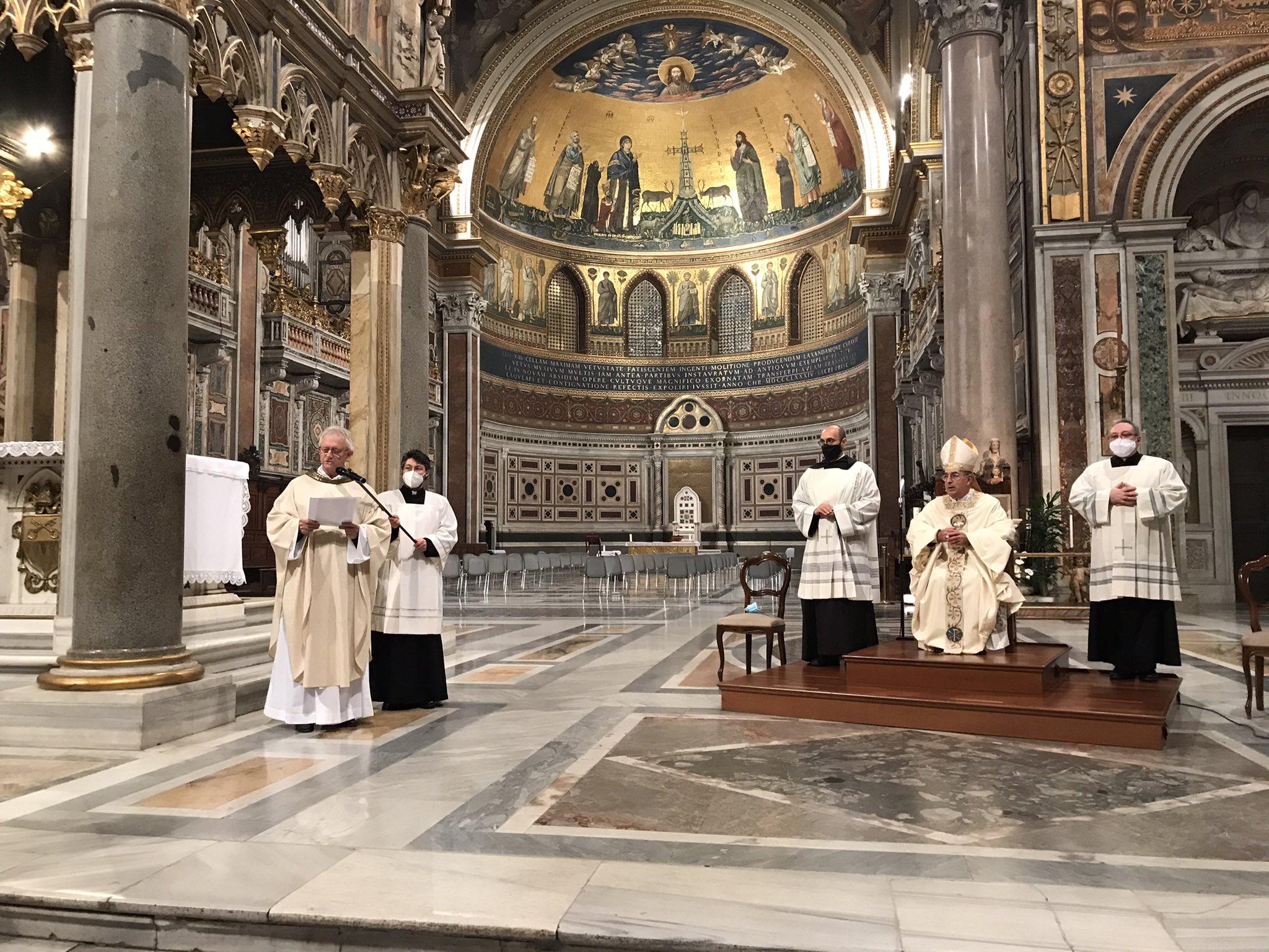 Rome: messe pour la France à Saint-Jean-de-Latran