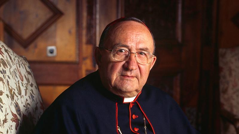 Suisse: décès du cardinal Henri Schwery
