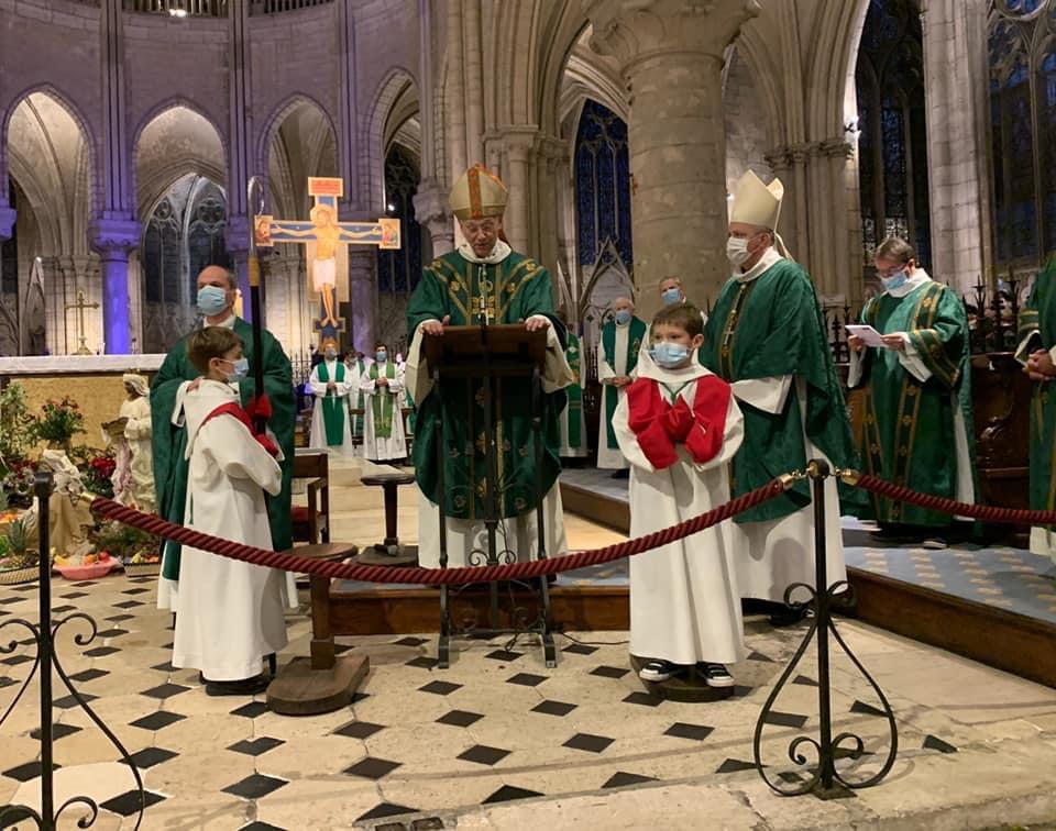 Messe de départ de Mgr Aumonier
