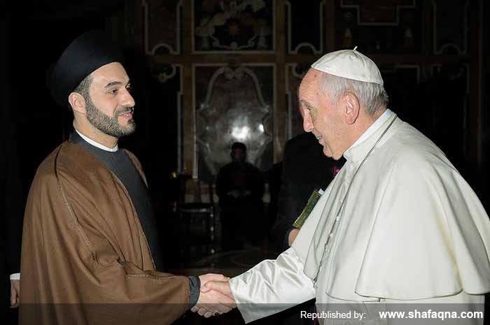Irak: une autorité chiite salue le rôle du Pape