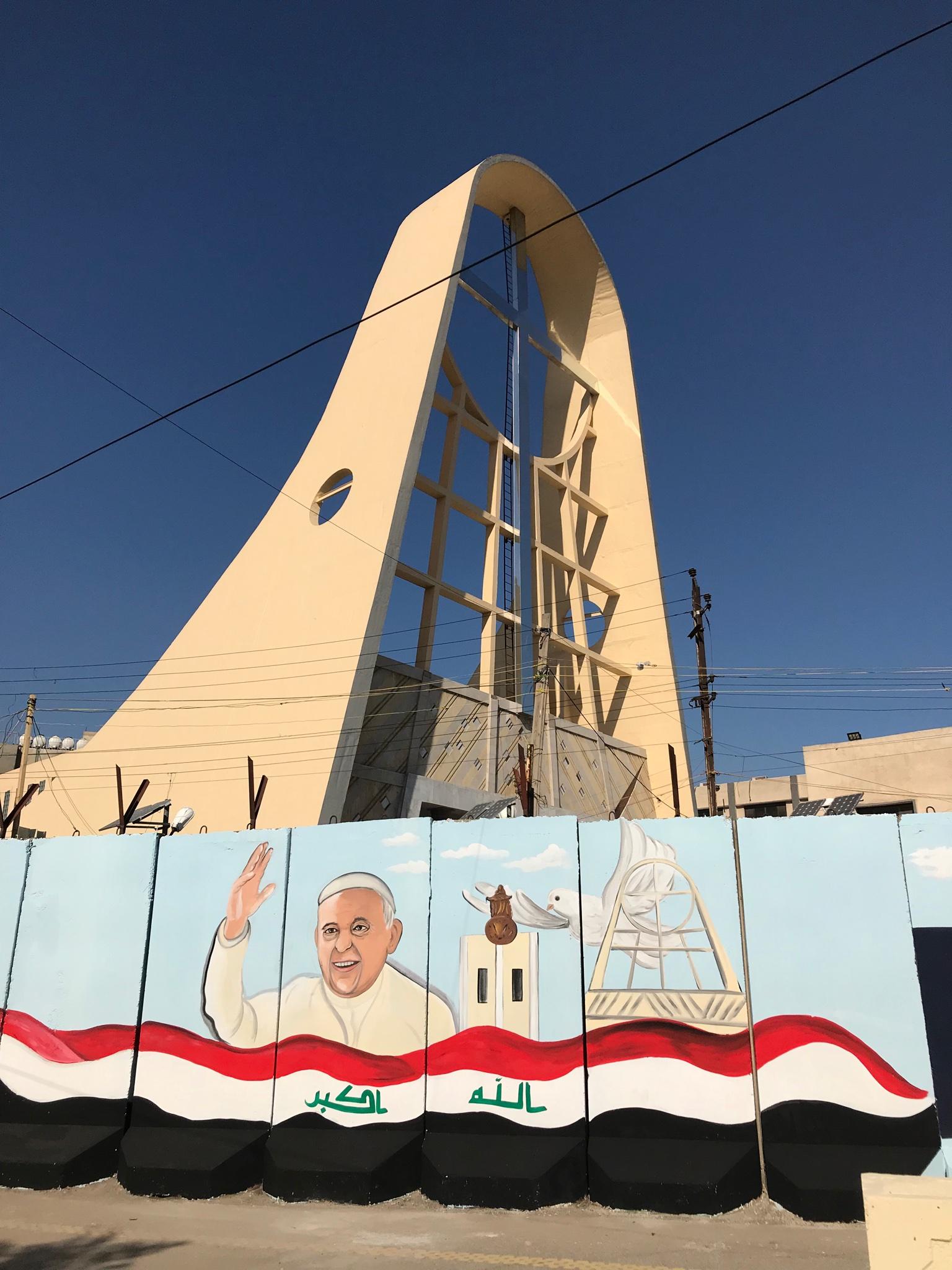 Irak: des églises prêtes à accueillir le Pape