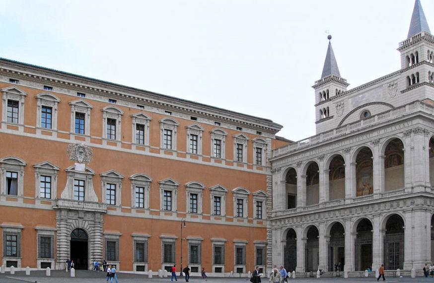Rome: ouverture du palais du Latran au public