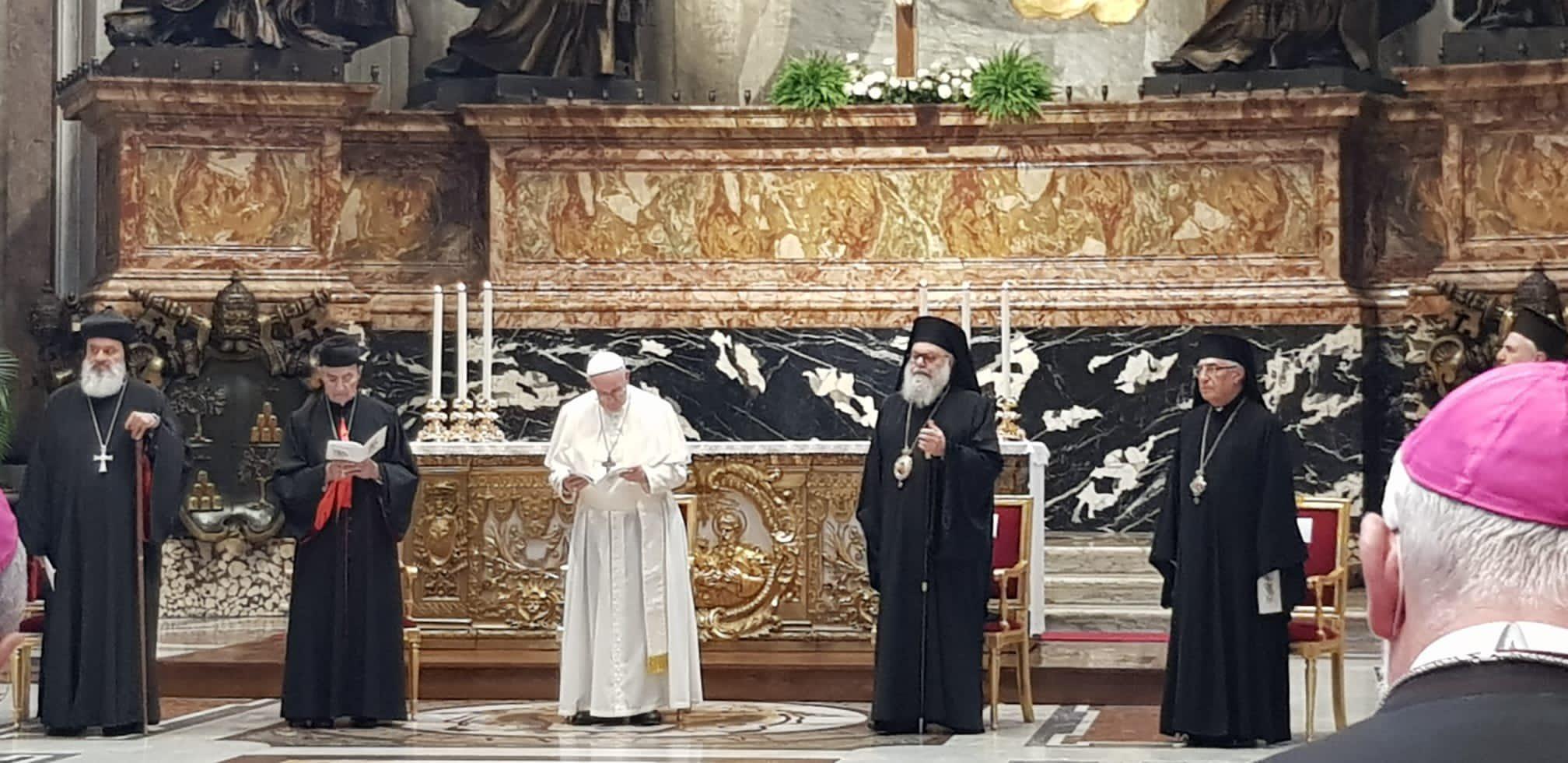 Rome: journée sur le Liban présidée par le Pape François