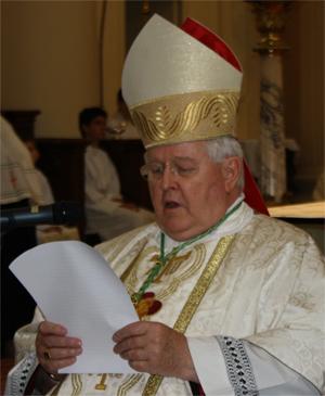 Rome: obsèques de Mgr Lebeaupain