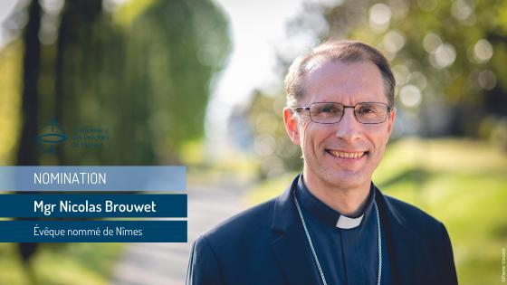 Mgr Brouwet nommé à Nîmes