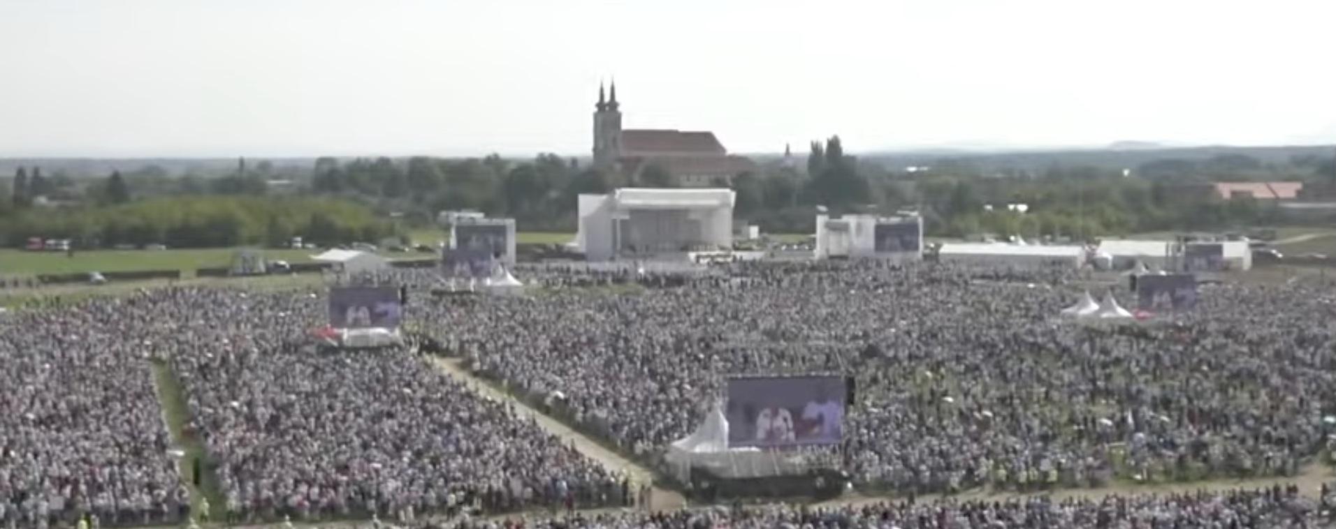 Slovaquie: le Pape au sanctuaire marial de Šaštin