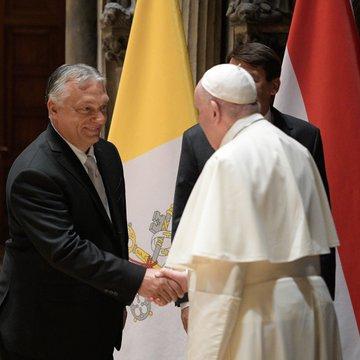 Budapest: rencontre entre le Pape François et Viktor Orban